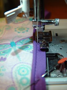 How to sew in piping