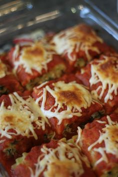 Personal Weight Loss Blog: Vegetarian Weight Watchers Spinach Lasagna Rolls - 6 Points Plus per roll.