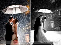 rainy wedding, wedding day, taking pictures, winter weddings, winter wedding pictures