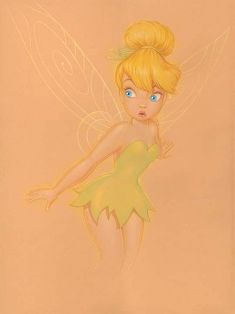 Disney Fine Art - Who Me Deluxe. Tinkerbell from Peter Pan. Biggs Ltd. Gallery. Heirloom quality bridal, art, baby gifts and home decor. 1-800-362-0677. $1,195.