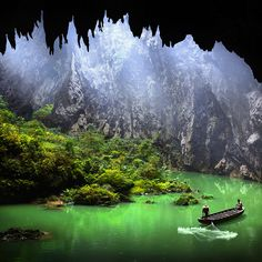 YingXi Corridor of Stone Peaks, China.