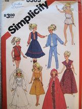 Vintage Barbie Sewing Pattern - I used to make my own Barbie outfits