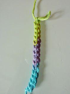 Crochet cords on pinterest point lace cords and crochet - Apprendre a monter des mailles ...