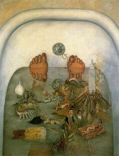 Frida water, 1938, inspir, fridakahlo, artist, el agua, paintings, frida khalo, frida kahlo