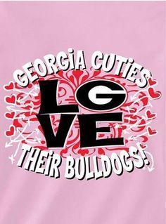 Georgia girls <3 their Dawgs!!!