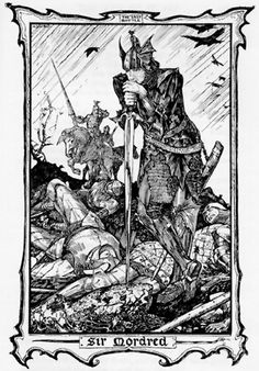 Sir Mordred by Henry Justice Ford