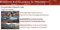 Stanford Encyclopedia of Philosophy provides free access to a large and diverse reservoir of philosophy articles. An expert in the field write each article.