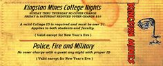 Kingston Mines 2548 N Halsted, Chicago  $FREE for military, Live blues 7 nights/week til 4am