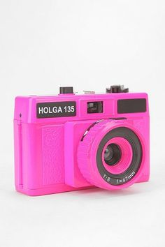 Holga 35mm Camera - Neon Pink
