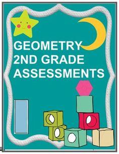 Geometry 2nd Grade Assessment - CCSS