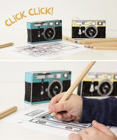 Printable Camera Toys, Prints and Posters from Caravan Shoppe