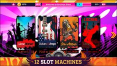 Rockstar Riches Slot Machine - Play Online or on Mobile Now