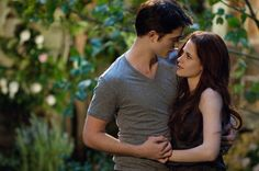 Edward and Bella Cullen, at their home, in The Twilight Saga: Breaking Dawn, Part 2