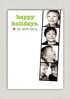 Filmstrip Holiday Card