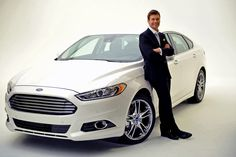 car, 2013 ford, ford fusion, 2013 fusion, green, wizards, random acts, ryan seacrest, automot
