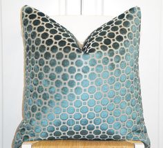 Decorative Pillow Cover  20 x 20  Accent by TurquoiseTumbleweed, $50.00