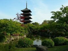 temples, toji templ, symbols, japan, kyoto, buddhist templ, templ complex