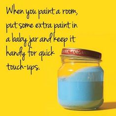 Here is our #HandyHint for today! paint