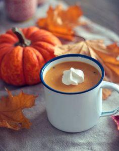 vegan pumpkin hot chocolate {recipe}