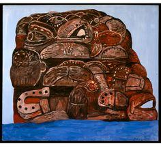 Philip Guston-Rock 1978
