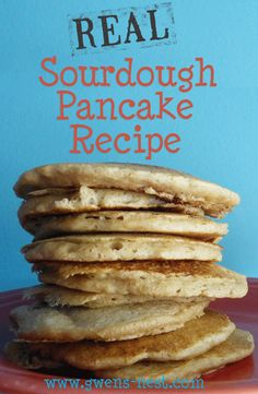 Real Sourdough Pancake recipe...the perfect E fueled Trim Healthy Mama breakfast!