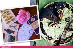 Almost Mother-in-law Cake + accoutrements from Sophie Dahl's Very Fond of Food