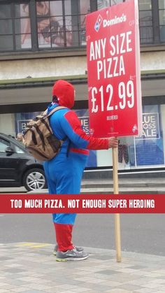 Fat Spider Man with