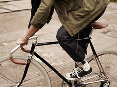Fixed Gear# Leather detailing# Chrome#