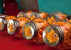 Elmo's Goldfish