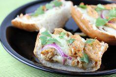 BBQ Chicken French Bread Pizza Recipe   BlogChef.net
