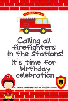 Firefighter Retirement Invitations with luxury invitations design