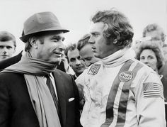 Racing Style: Juan Manuel fangio and Steve Mcqueen via l'aragosta