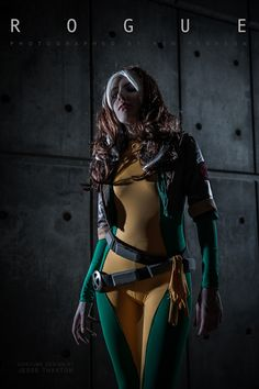 This is some really great Rogue cosplay.
