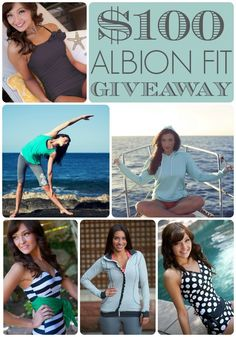 A Little Tipsy: $100 Albion Fit Giveaway!