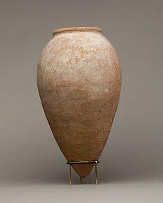 ca. 3850–2960 BCE. Predynastic Egypt. Pottery Jar. el-Kom el-Ahmar, (Southern Upper) Egypt.