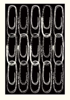 Paper clip print