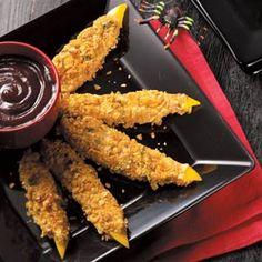 Halloween Recipe: Crunchy Monster Claws (Contest-winning recipe.)