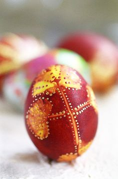Serbian easter egg