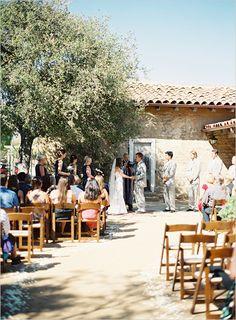 Santa Barbara Historical Museum Wedding By Patrick Moyer
