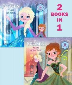 Disney Frozen – Elsa's Icy Magic & Anna's Act of Love (2 books in 1) #disneyfrozen #disneyfrozenelsa #disneyfrozenanna