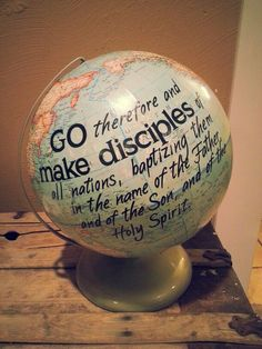Make disciples of all nations...