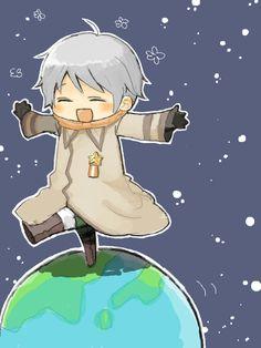 Hetalia- chibi Russia ~ too cute! :)