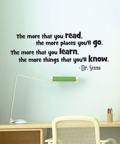 When I have kids will put this on their wall... Reading is the key to getting ahead in life...