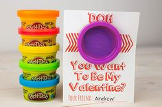Play-Doh cards - 15 Valentine's Day Free Printables - ParentMap
