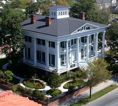 The Bellamy Mansion Museum of History & Design Arts - Wilmington, NC- open 10-5 costs $10