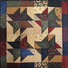 Tumbleweeds Charm Pack Quilt Pattern - Bound to the Prairie