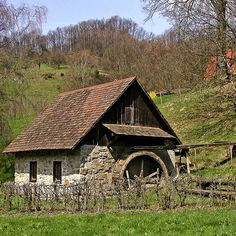Historic Water Mill in the Rench Valley, Black Forest