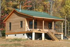 Huntsman Cabin Plans from BackroadHomes.com