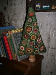 Primitive Penny Tree Make Do Rug Hooking PATTERN