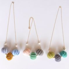 Holy felt necklace---these are super & a must have.